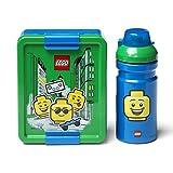 Lego Set da Pranzo Ragazzo, Blu, Taglia Unica