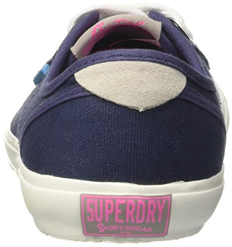 Bassa Superdry Scuro Scarpe Donna up Blu rosso Pro Lace PPfrxAwq
