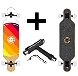Long Island Longboard 2015 World Drop-Through + Fantic26 Skatetool