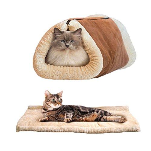 CAT TUNNEL CAT SACO DE DORMIR DOG KENNEL CAT LITTER PET LITTER PRODUCTOS PARA MASCOTAS