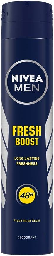 Nivea Men Deodorant, Fresh Boost, 200 ml
