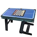 Winmax Deluxe 5 in 1 Multigame Klappbar Tischtennis Glatt Hockey Schach Pool Basketball Set - 4