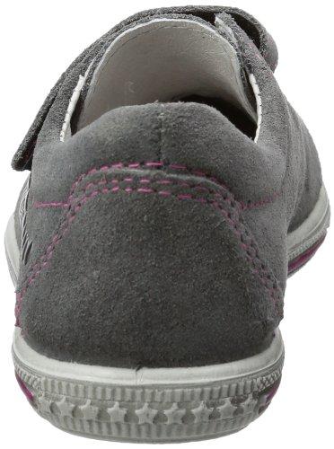 Ricosta, Mädchen Sneaker Grau (patina/pink 482)