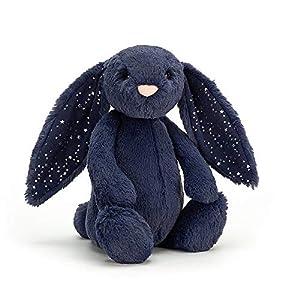 Jelly Cat- Peluche Conejo Azul Estrellas (JELLYCAT BASS6SD)