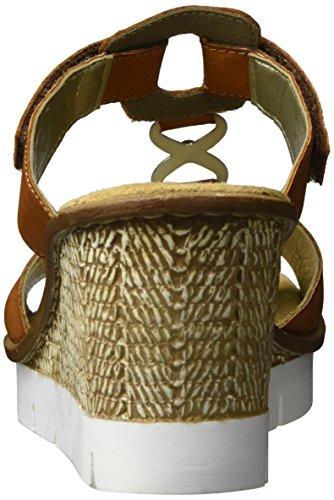 Rieker Damen 65592 Wedge Sandal Braun (cayenne / 24)