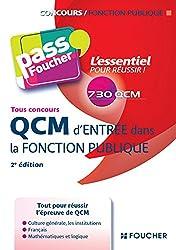QCM d'entrée dans la fonction publique 2e édition