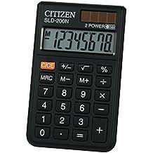 Kalkulator kieszonkowy Citizen SLD-200N czarny