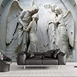 Worryd HD Drucken Poster Bild Europäische Geprägte 3d Engel Menschen Wandbild Fototapete für Schlafzimmer Wand Kunst Dekor Malerei Wandbilder, a