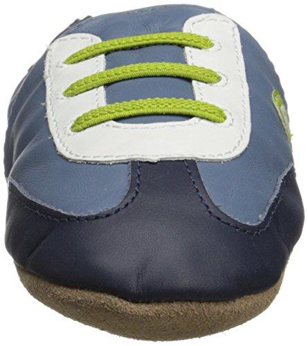 Robeez All Star Rodney BN Crib Shoes China Blue