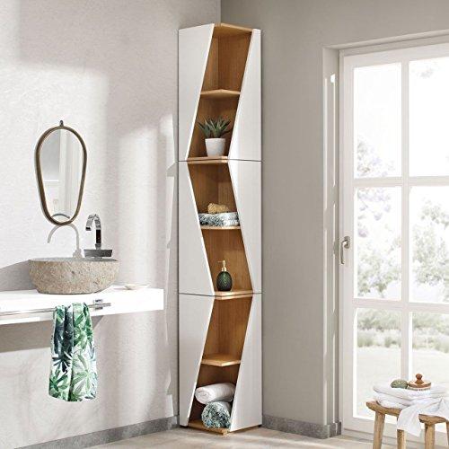 eckregale eiche kaufen regalehoch2. Black Bedroom Furniture Sets. Home Design Ideas