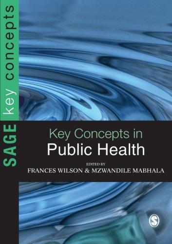 Key Concepts in Public Health (SAGE Key Concepts series)