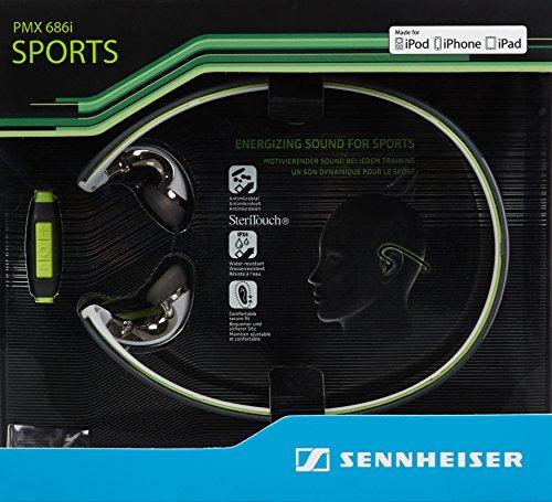 Sennheiser PMX 686i Sports In-Ear-Sportkopfhörer (mit Nackenbügel, geeignet für Apple iOS) grün/schwarz - 5