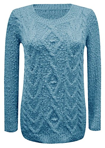 baleza-women-ladies-chunky-cable-knitted-jumper-sweater-sz-8-14-m-l-12-14-turquoise
