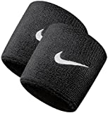 #2: DreamPalace India Sports Wrist Band Supporter Sweat Band Black - 1 Pair