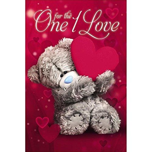 Me to You Valentinstagskarte mit Aufschrift One I Love with Heart, Tatty Teddy Bear (Valentines Day Pack Von Karten)