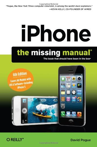 Preisvergleich Produktbild iPhone: The Missing Manual (Missing Manuals)