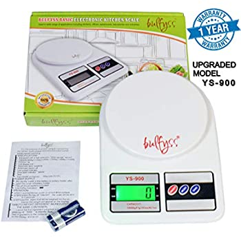 Buy Bulfyss Electronic Kitchen Digital Weighing Scale 10