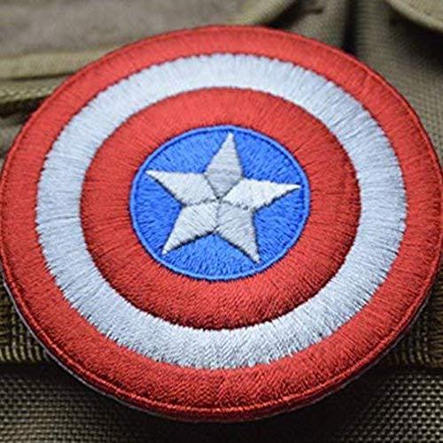 OYSTERBOY Capitán América Shield - Parche táctico