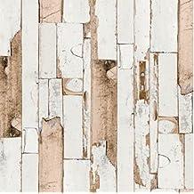 Klebefolie Holzdekor Möbelfolie Holz Scrapwood grau dunkel 67cm x200cm Dekor