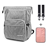 Diaper Bag Backpack Waterfly Baby Changing Bags Waterproof Nappy Back Pack with Changing