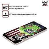 Head Case Designs Officiel WWE John Cena Drapeau D'Américain Superstars Étui Coque D'Arrière Rigide pour Huawei P Smart/Enjoy 7S