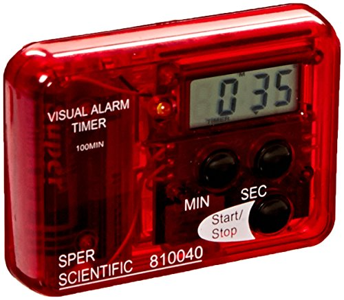 Sper Scientific compacto alarma visual sonora, 1