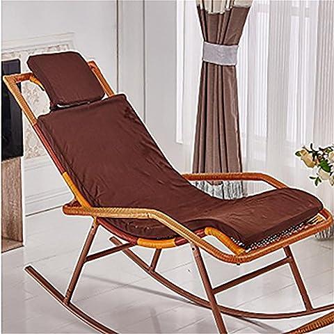 New day-Rattan sedia a dondolo che si trova sedia cuscino sedia a dondolo cuscino culla sedia cuscino , f