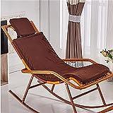 New day®-Rattan sedia a dondolo che si trova sedia cuscino sedia a dondolo cuscino culla sedia cuscino , f
