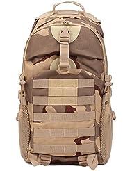 Mochila de Negocios de Moda Mochila táctica Militar Exterior Unisex Acampada para Caminar Mochila de Camuflaje