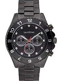 Reloj hombre Louis Villiers acero negro 45 mm lvag5877 – 13
