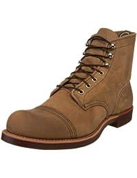 Red Wing Shoes Iron Ranger, Zapatos de cuero con cordones para hombre