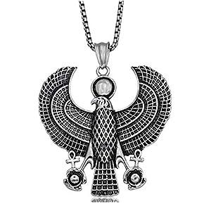 shunlidas Anhänger Titan Stahl Männer und Frauen Halskette Adler Europa und den Vereinigten Staaten mit Schmuck