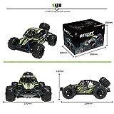 Maxxrace Kamera RC Autos Elektrisches Ferngesteuertes Spielzeugs, Remote Control Autos mit Live Übertragung 4WD 2Motor 2.4G FPV Wifi (App) HD Kamera 2 Sätze Reifen, Militär LKW Auto für Kinder