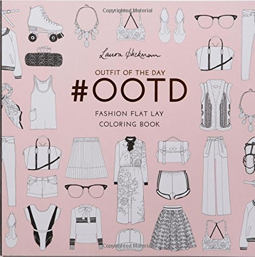 ootd-fashion-flat-lay-coloring-book