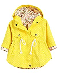 Amazon.co.uk: Yellow - Coats & Jackets / Girls: Clothing
