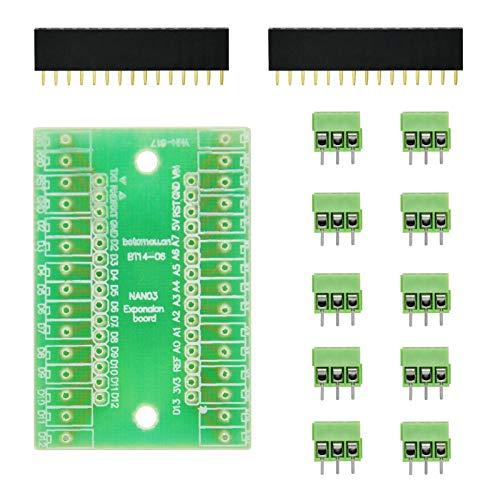 Terminal-adapter-kit (gikfun Nano IO SHIELD Expansion Board Terminal Adapter DIY Kits für Arduino ek1676)