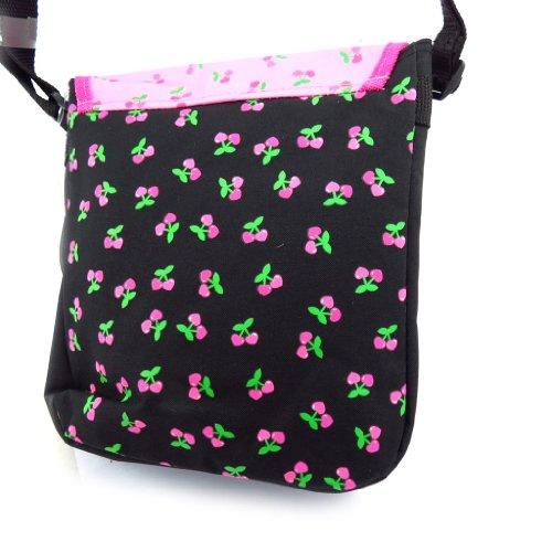 Bag 'Hello Kitty' negro rosa.