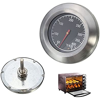 UxradG BBQ Temperaturmessung. Outdoor Smoker Grill Edelstahl Barbecue Thermometer Temperatur Gauge 60 ? -430 ?