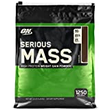 Optimum Nutrition (On) Serious Mass Weight Gain Powder - 12 Lbs(5.44) ( Chocolate )