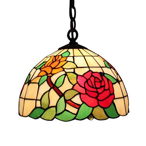 Gweat Tiffany Lampe De Plafond Der Beste Preis Amazon In Savemoney Es