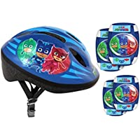 Stamp–Casco–Rodillera Codera bicicleta–PJ Masks–pyjamasque, pj280507