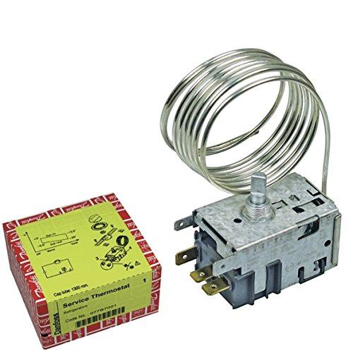 Universal Thermostat 077B7001 Danfoss Nr.1 mit Zubehör Kühlschrank