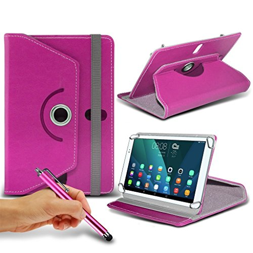Fall Memo Asus Zoll 8 ((Pink) ASUS ME180A MeMo Pad [8 Zoll] Tasche Fall hŸlle [Standplatz -hŸlle] fŸr ASUS ME180A Memo Pad [8 Zoll] Tablet PC Kasten-Abdeckung [Standplatz -hŸlle] strapazierfŠhigem Synthetik-PU-Leder 60 Roatating Abdeckung Tasche Fall hŸlle [Standplatz -hŸlle] mit 4 Federn durch i- Tronixs)