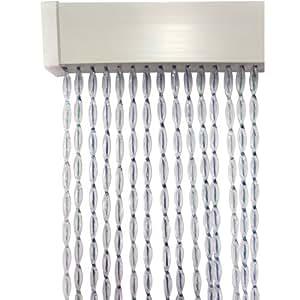 fliegenvorhang aus kunststoff 60x180cm k rzbare breite sch tzt vor insekten fliegenschutz. Black Bedroom Furniture Sets. Home Design Ideas
