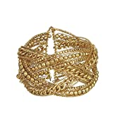 DCA Steel Gold Women Bangle/Bracelet  1064  available at Amazon for Rs.100
