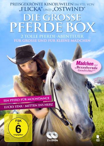 Bild von Die große Pferde-Box - 2 tolle Pferde-Abenteuer in einer Box: Lucky Star - Mitten ins Herz, Ein Pferd für Moondance [2 DVDs]