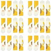 AOLVO - Calcetines para Silla (24 Unidades, Madera Dura, Protectores de Suelo, para Tejer, Patas de Mesa, Calcetines de Lana