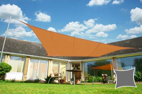 Voile d'Ombrage Terracotta Rectangle 5x4m - Imperméable - 160g/m2 - Kookaburra
