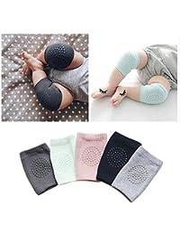 Houtby™ 5 paires de ciseaux unisex au genou Protecteur de sécurité de craquage Kneecaps Enfants Short Kneepad