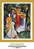 Kunstkalender 2020 - Der Goldene DUMONT-Kunstkalender - Wandkalender - Hochformat A3 29,7 x 42 cm -